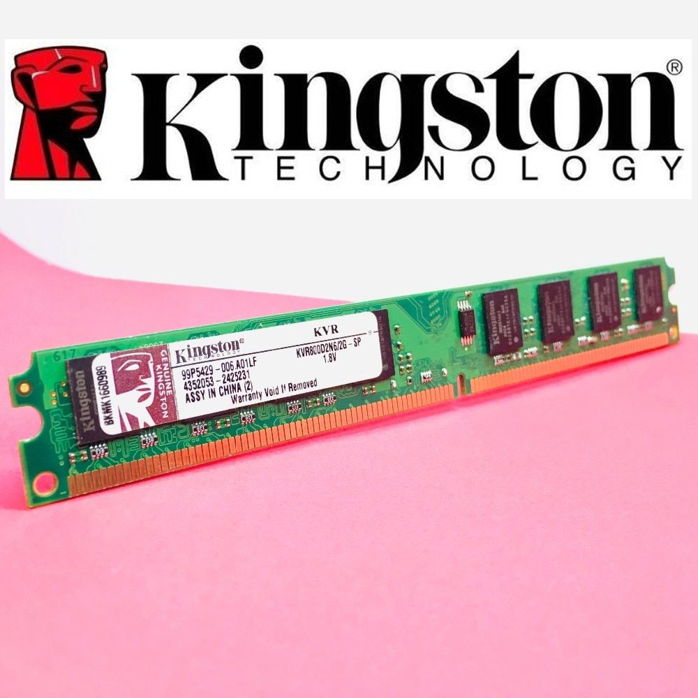 Kingston PC Memory RAM Memoria Module Computer Desktop 1GB  2GB  PC2 DDR2 4GB DDR3 8GB 667MHZ 800MHZ 1333MHZ 1600MHZ 8GB 1600