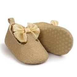 2017 recién nacido Niño del caminante del bebé Niñas algodón lentejuelas Soft suela Zapatos Fondo suave bebe Niñas Zapatos 17dec29