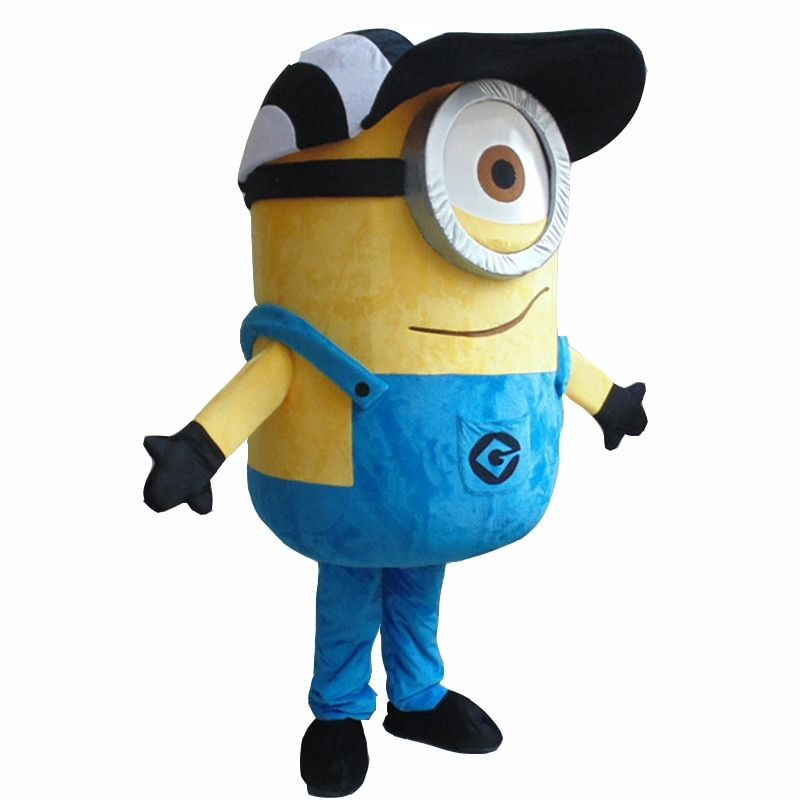 on sale! free shipping,15 styles minion mascot costume for adults mascot costume