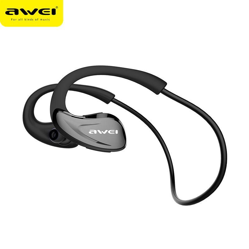 AWEI a880bl Bluetooth Наушники Беспроводной наушники с микрофоном для Телефон bluetoot V4.1 apt-X спортивный Auriculares kulakl K