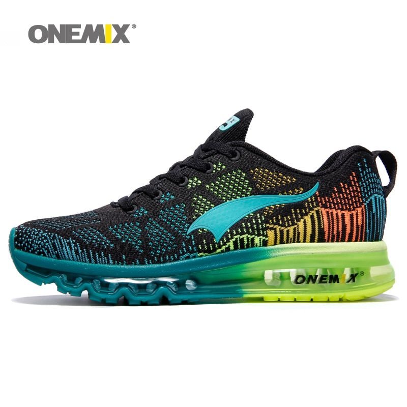 Onemix man running shoes breathable mesh male sport sneaker light athletic shoes chaussures hommes cushion Trainers plus size