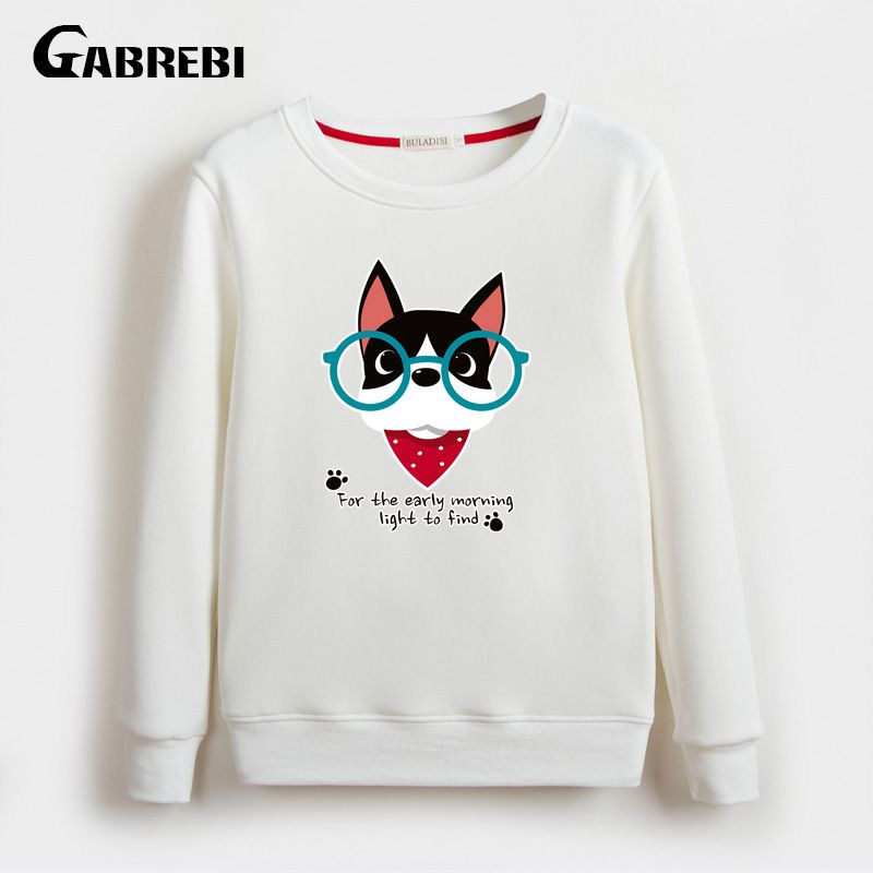 Autumn Winter New Loose Velvet Thicken Long Sleeved Women Hoodies Famous Design Printing Plus Size Bts Sweatshirt