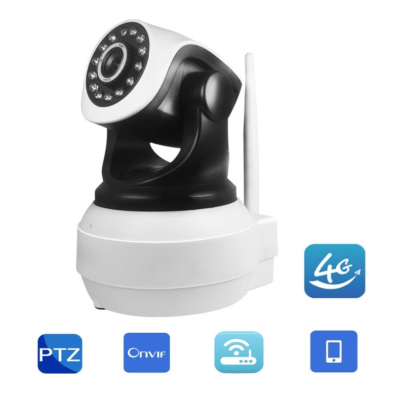 Wi-fi 3G 4G SIM Card IP Camera 720P 960P HD Baby Monitor P2P Network Wireless Home Security Two Way Audio IR Night Vision