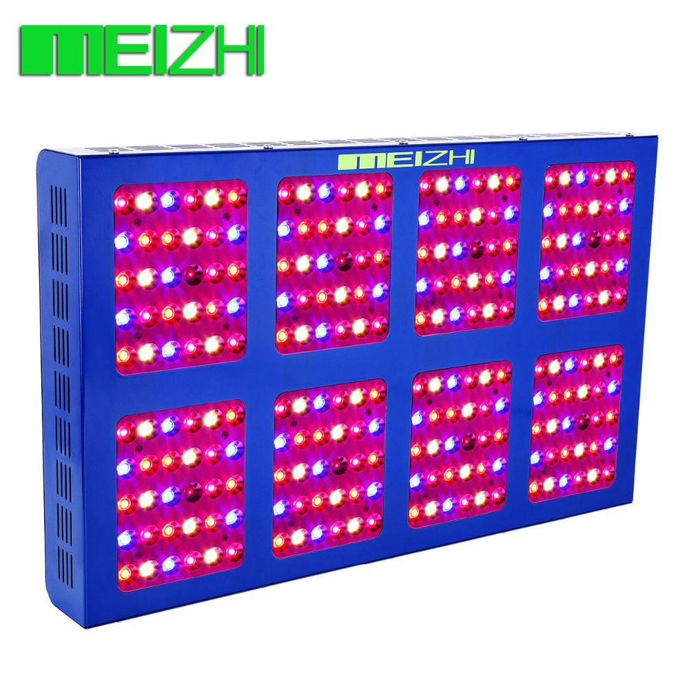 MEIZHI Reflector LED 1200W Grow Light indoor garden hydroponic led cob full spectrum indoor plants lighting
