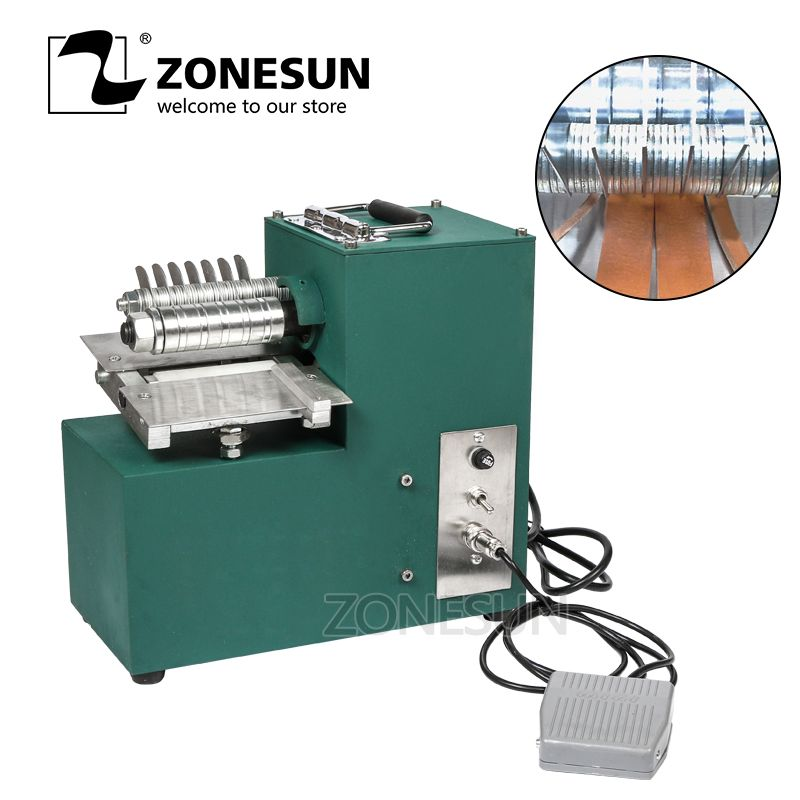 V01 Leather Cutting Machine Slitting Machine Leather Slitter Shoe Bags Straight Paper Cutter Vegetable Tanned Leather Slicer