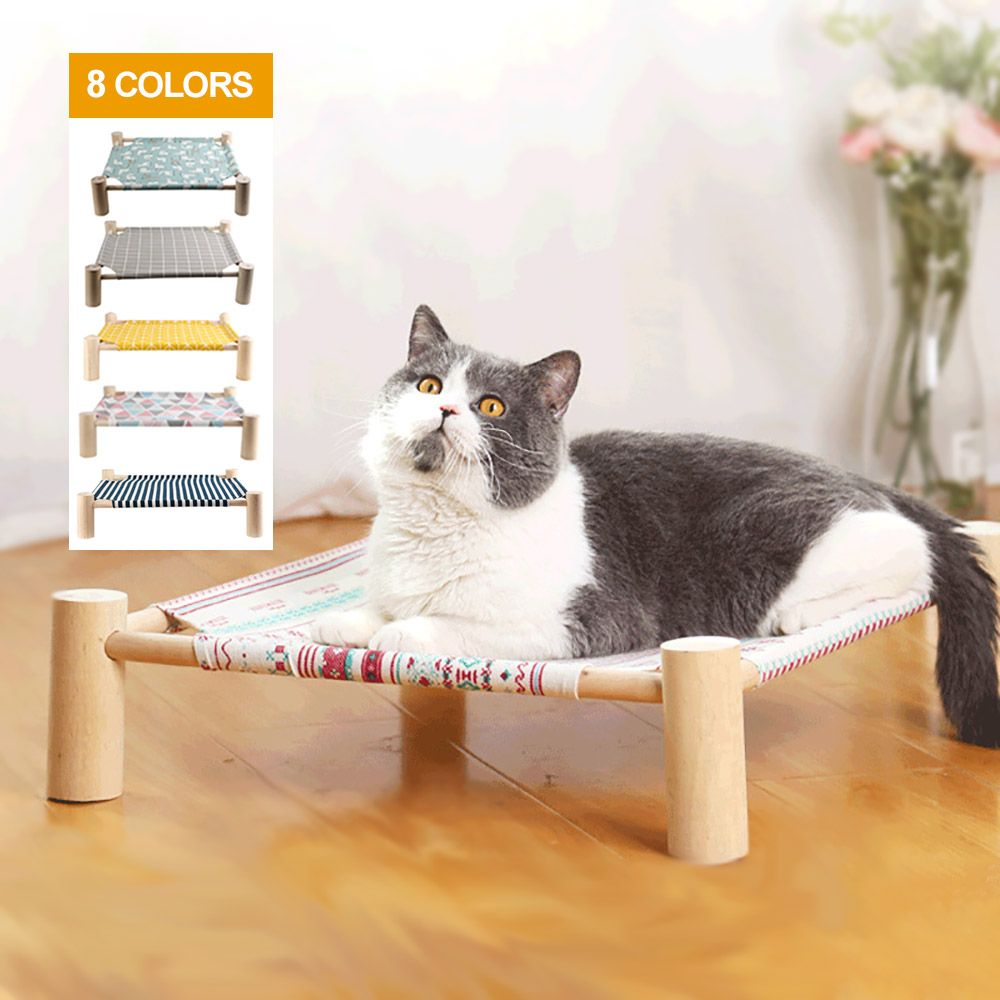 Summer Cat Hammock Bed Pet House For Dogs Puppy Lazy Mat Cushion Lounger For Cats Kitten Cottages Pet Sleeping Supplies