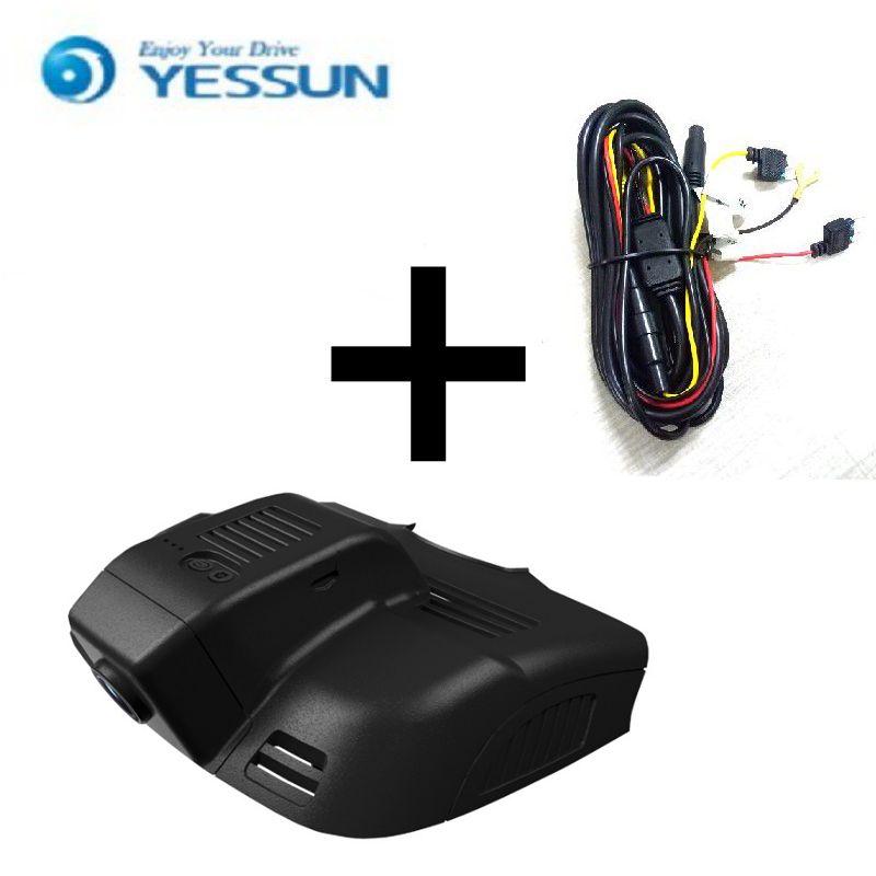 YESSUN pour Mercedes Benz E W212 W207 C207 voiture DVR Mini caméra Wifi conduite enregistreur vidéo voiture registrateur Dash Cam