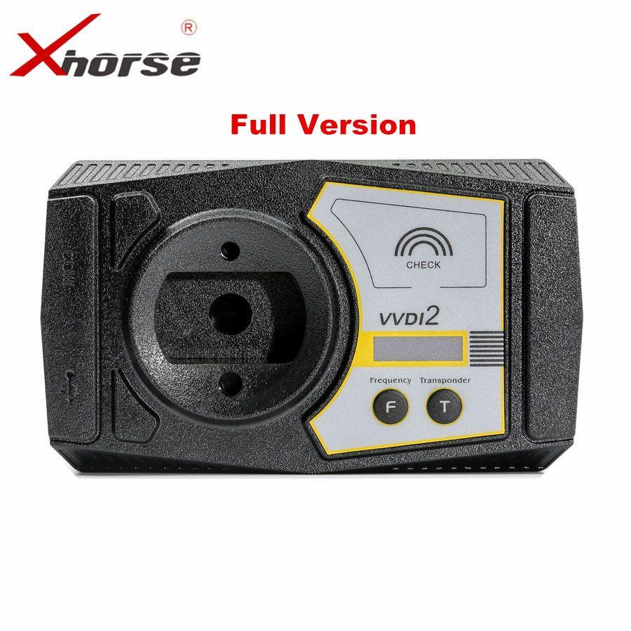 Original Xhorse V5.5.0 VVDI2 Commander Key Programmer for V-W/Audi/BMW/Porsche Full Version Newly Add For BMW FEM/BDC Function