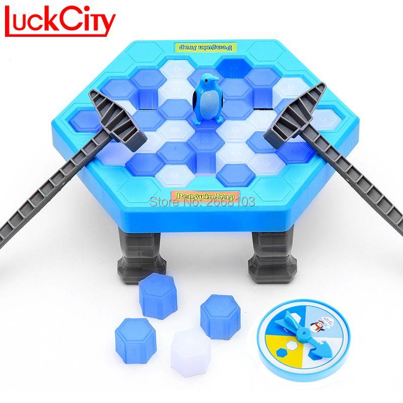 Sauver le pingouin pingouin brise-glace grande famille drôle jeu de bureau enfant jouet cadeaux qui font tomber le pingouin perdre ce jeu