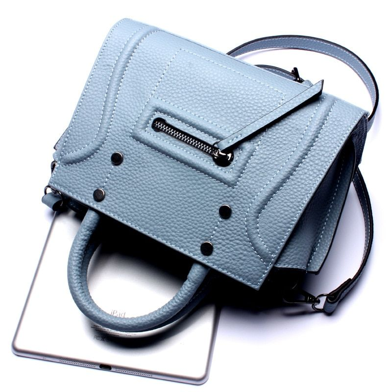 Cowhide Genuine Leather Women Messenger Bags bolsa feminina top selling high quality handbag fashion Lolita style for girls 2017