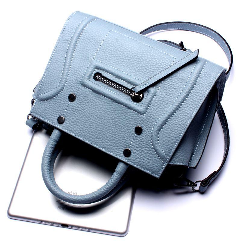 Rindleder-echtes Leder Frauen Messenger Bags bolsa feminina top verkauf hohe qualität handtasche mode Lolita stil für mädchen 2017