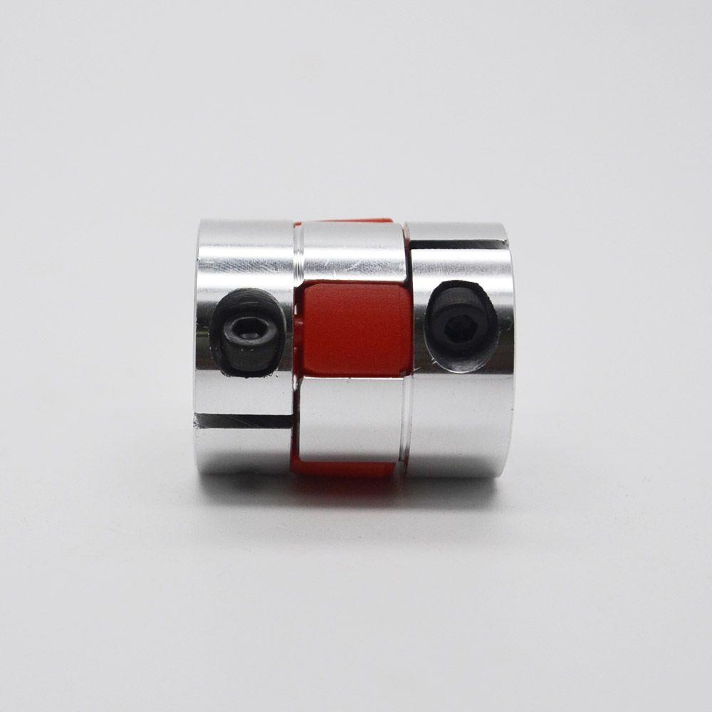 Free shipping 6mm to 6mm 2Pcs 6*6mm CNC Motor Shaft Coupling Coupler Diameter 30mm Length 35mm