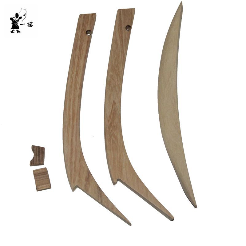 New production of their own hunting traditional anti-Qing Dynasty bow and arrow accessories traditional wooden bow tip