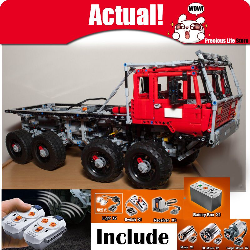 In Stock Lepin 23012 2839Pcs Genuine Technic The Arakawa Moc Tow Truck Tatra 813 Educational Building Blocks Bricks legoingly