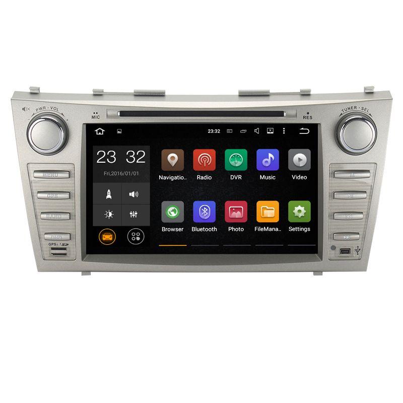 8 дюймов Android 7.1 1024*600 dvd-плеер GPS навигации для Toyota Camry 2007 2008 2009 2010 2011 поддержка DVR OBD 2 dab 3 г