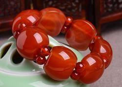 Xinjiang and tian jade bracelet genuine white jade bracelet.