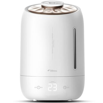 5l Portable Intelligent Touch Control Ultrasonic Humidifier 12h Timer Aromatherapy Mist Maker With Antibacterial Water Tank