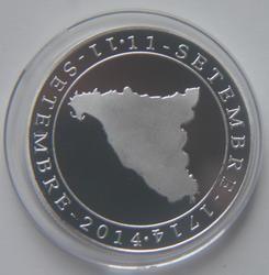 40mm Catalunya independencia medalla de moneda de recuerdo España UE Unión Europea barcelona