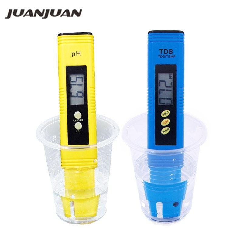 Digital PH Meter Automatic calibration 0.01 and TDS Tester Titanium probe water quality test Monitor Aquarium Pool 26% off