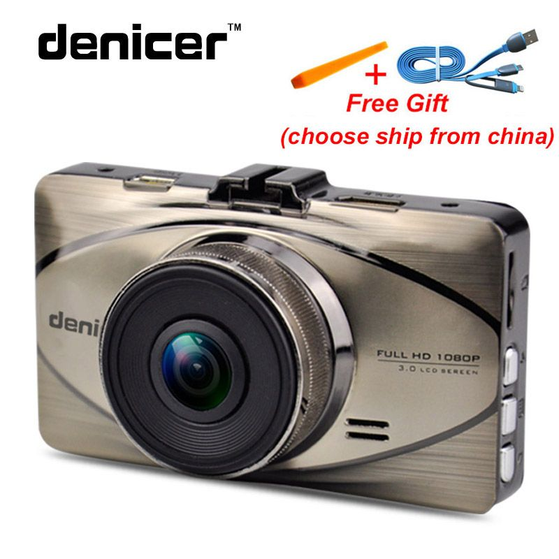 Car Video Recorder Novatek 96655 Dash Camera In Car Video Camera Full HD 1080P 170 Degree Camara Automovi 30fps Dashboard camera