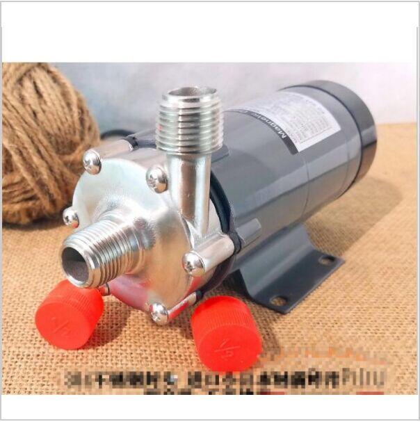 304 stainless head Magnetic Pump 15R , Homebrew,Food Grade High Temperature Resisting 140C beer Magnetic Drive Pump Home Brew