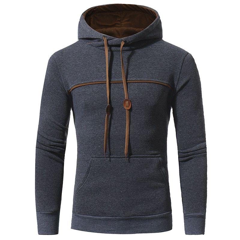 NEW 2017 Fashion Men Hoodies Brand casual Men HSodie  Casual Solid color HooWed Jaskets Male Hody moletom Size 3XL