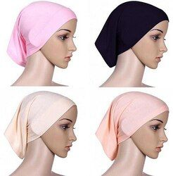 Mode Hijab Headwrap 2017 Musulman Islamique Capot Coton Femmes Chaude Tête Écharpe Underscarf Nouveau