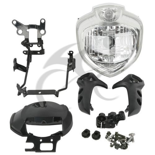 Motorcycle HEADLIGHT SET HEAD LIGHT ASSEMBLY FOR 2004-2006 YAMAHA FZ6 FZ6N  2005 Farol FZ6