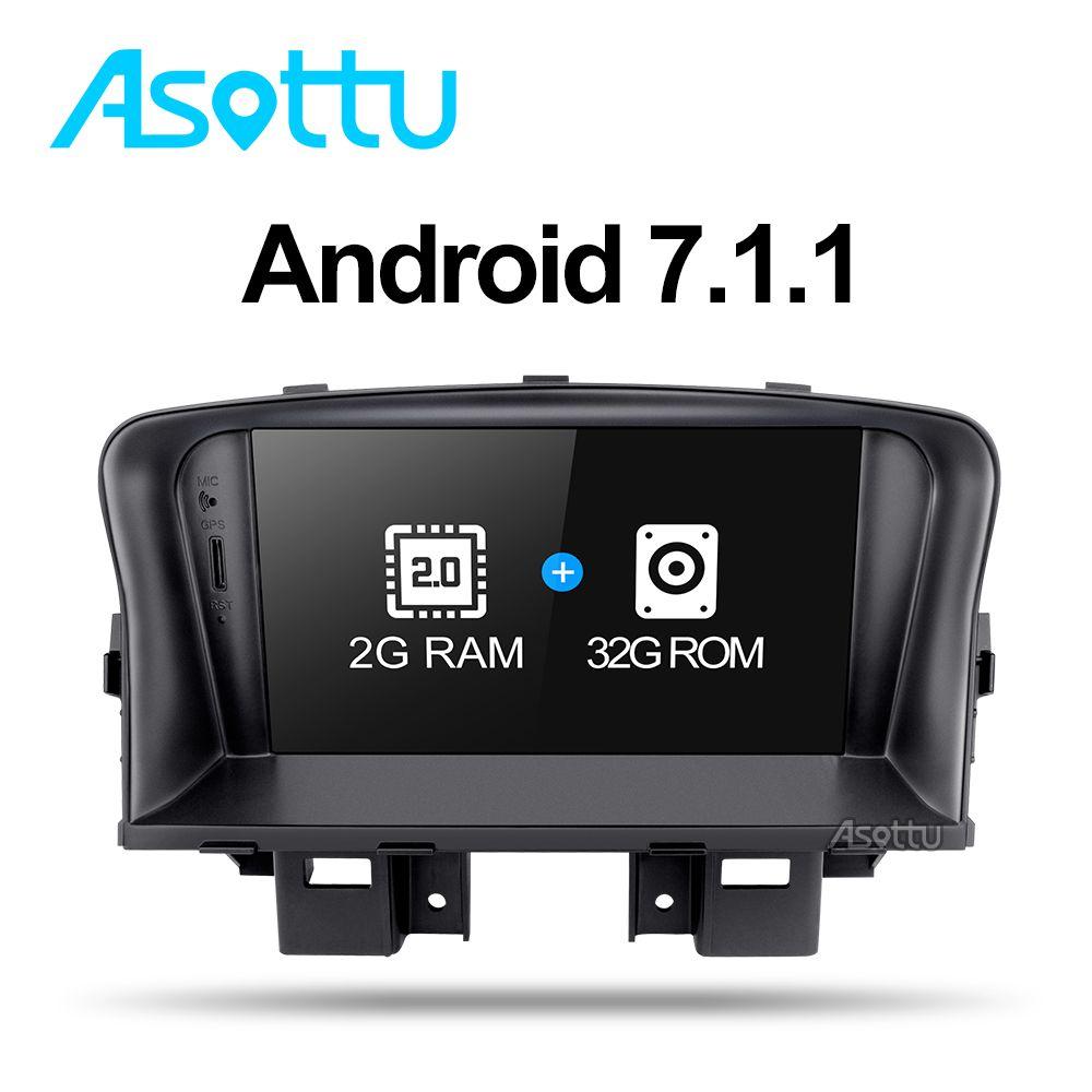 Asottu ZLKLZ7060 2G + 32G Android 7.1 auto dvd-radio-player Für Chevrolet Cruze 2008 2009 2010 2011 2012 gps radio gps cruze dvd