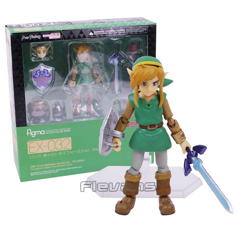 The Legend of Zelda Link Ein Link Zwischen Weltweit Figma EX-032/Figma 284 PVC Action Figure Sammeln Modell Spielzeug 2 Arten