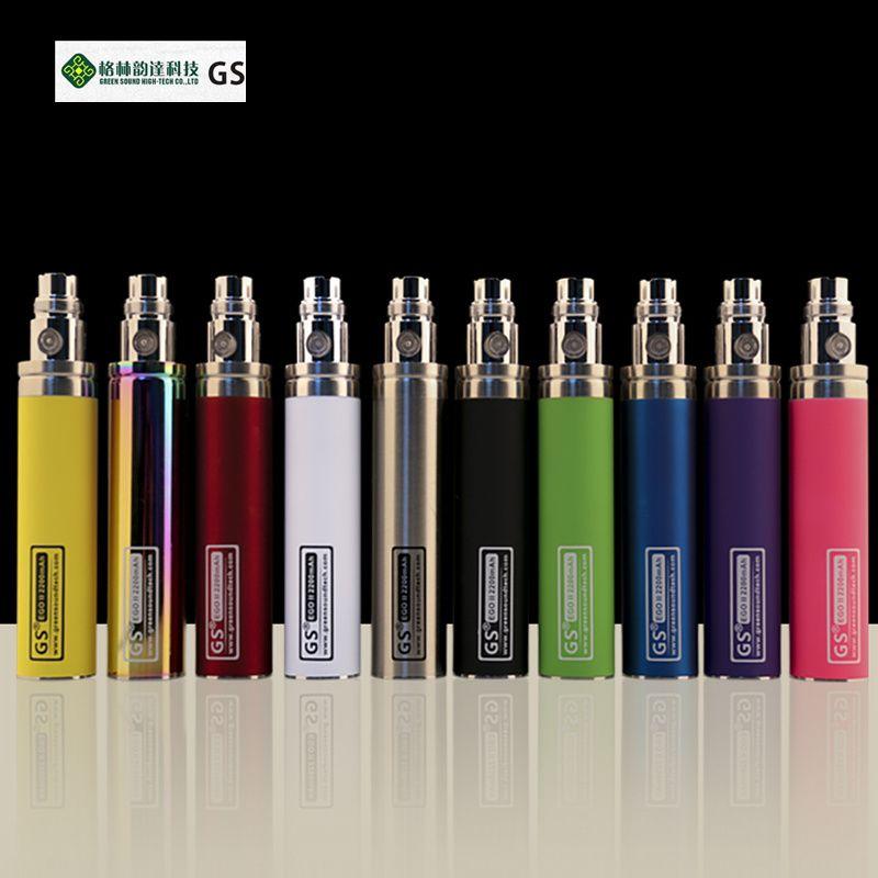 Green 5 teile/los Neue Kapazität 2200 mah EGO 1 woche Batterie Für ego II Elektronische Zigarette Ego/510 Gewinde batterie