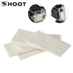 12pcs Anti Fog Inserts for Gopro Hero 5 6 4 Black Yi Lite 4K 4K+ SJCAM H9 Waterproof Case Camera Mount for Go Pro Accessories