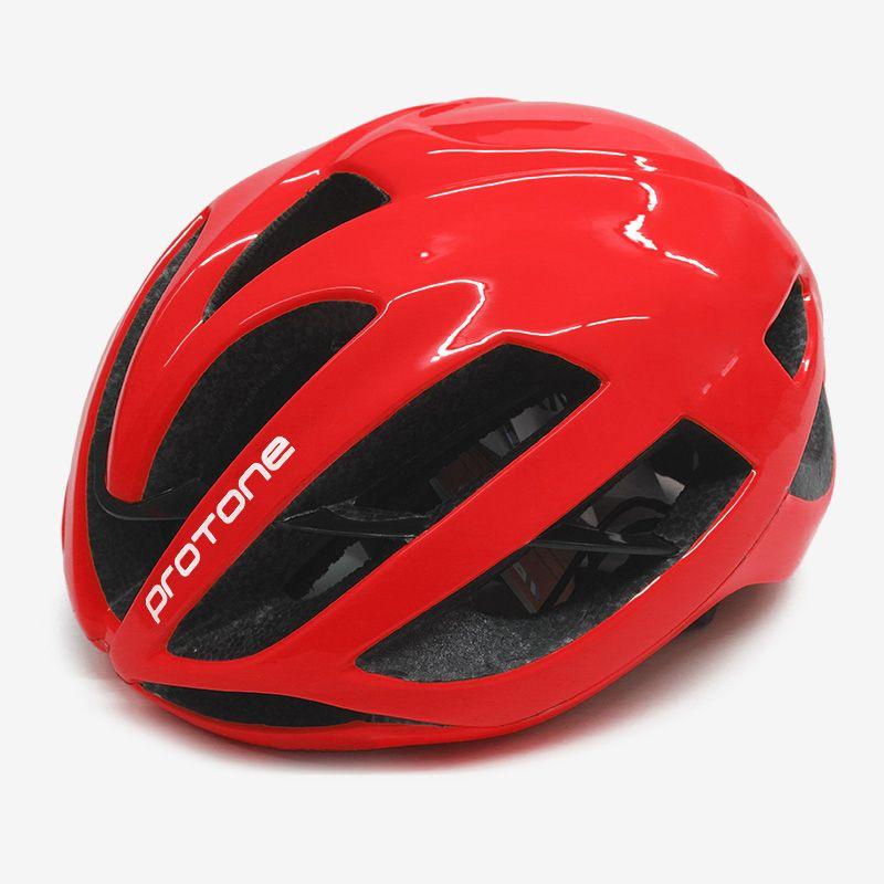 ultralight red Protone bicycle helmet aero capacete road mtb mountain XC Trail bike cycling helmet 52-58cm casco ciclismo helmet