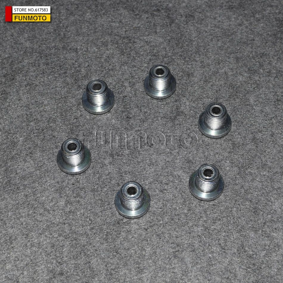 6 PCS MAGNETIC  OIL DRAIN BLOTS OF REAR GEARBOX FOR CFX8/CFMOTO   PARTS NO. IS 0180-332100