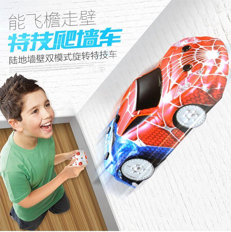 Voitures miniatures pour enfants, voiture d'escalade électrique intelligente à télécommande, voitures télécommandées électriques sans fil, jouets modèles