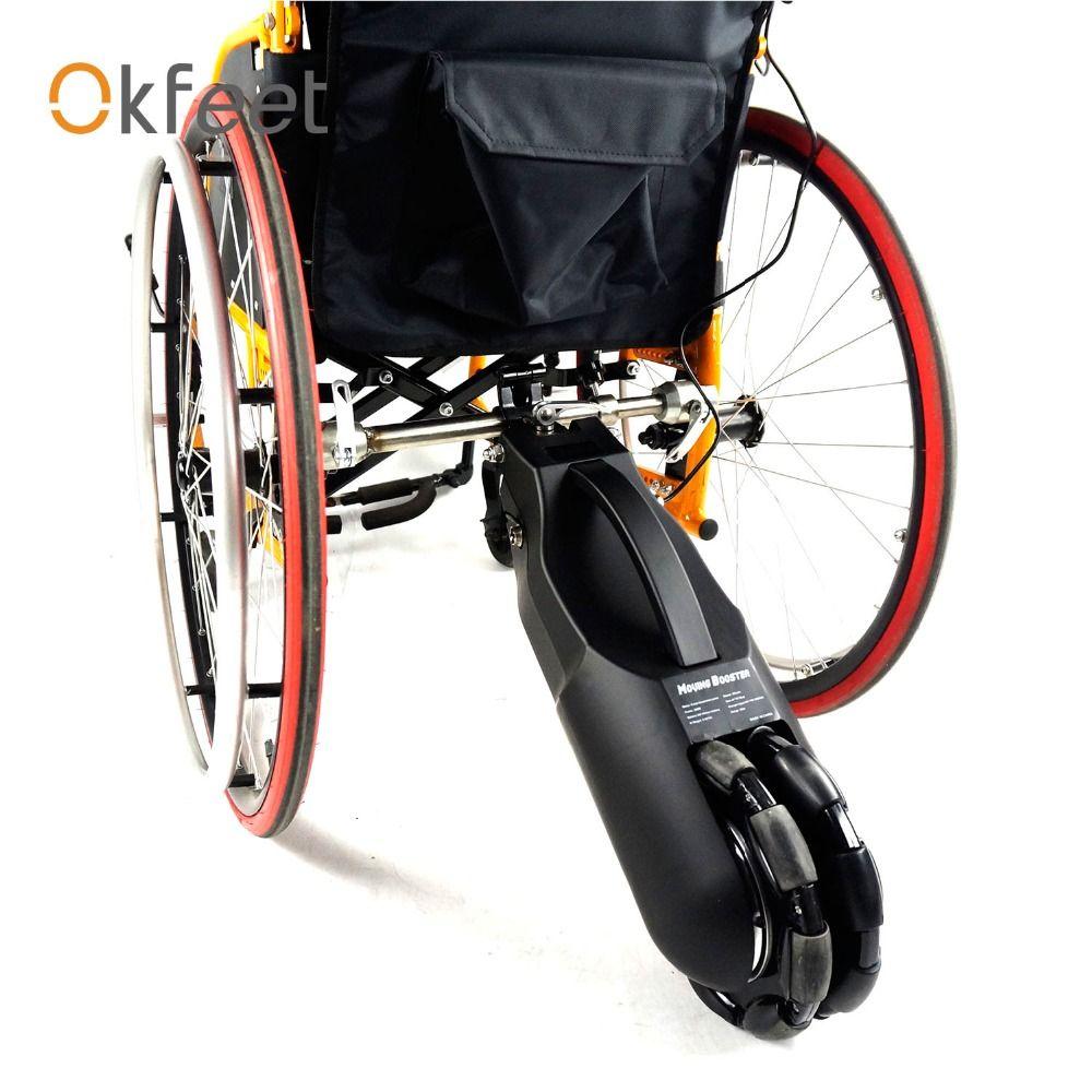 Elektrische Rollstuhl Traktor Rollstuhl Handbike Elektro-rollstuhl Conversion Kits mit Batterie 24 v 250 watt 8 zoll Einfach installieren