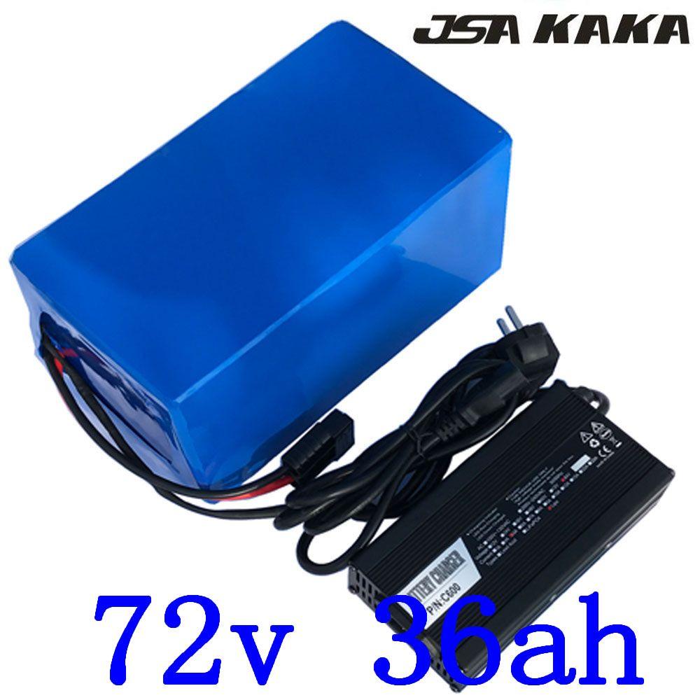 72V 2000W 3000W ebike batterie 72V 35AH Elektrische Fahrrad batterie 72V 35AH elektrische roller batterie 72V Lithium-batterie mit ladegerät