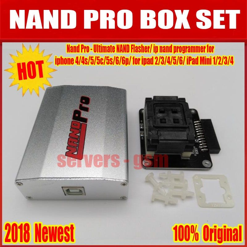 2018 Newest 100% Original Nand Pro - Ultimate NAND Flasher/ ip nand programmer for iphone 4/4s/5/5c/5s/6/6p/ for ipad 2/3/4/5/6/