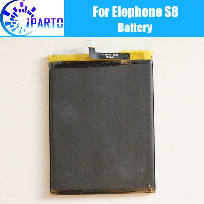 Elephone S8 Battery Replacement 100% Original New High Quality High Capacity 4000mAh Battery for Elephone S8