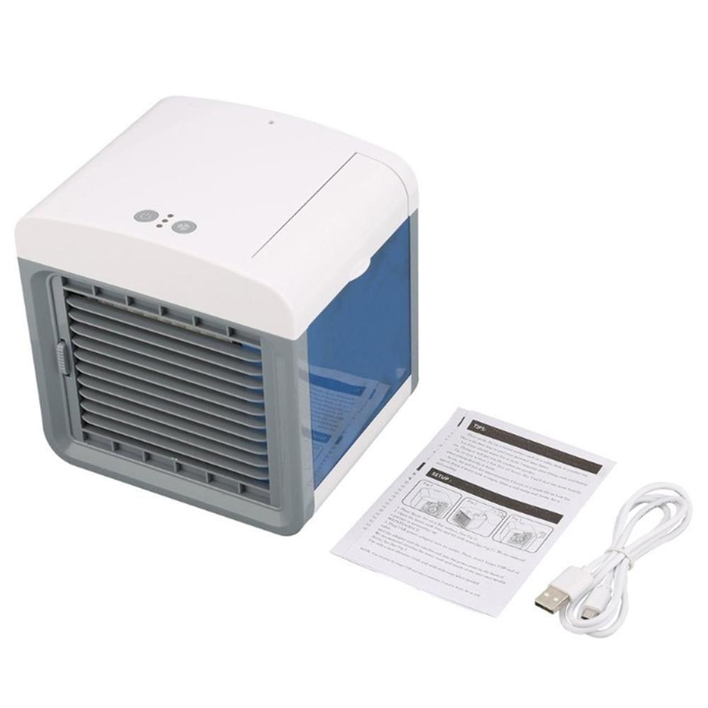 Pratique refroidisseur d'air ventilateur Portable numérique climatiseur humidificateur espace facile Cool purifie Air ventilateur de refroidissement pour le bureau à domicile