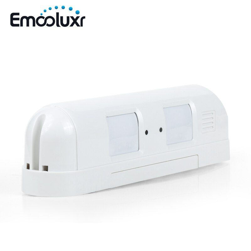 Active Wired Dual Curtain PIR Sensor Motion Detector Anti Mask Anti Pet Suit for Home Business Boundary Protection