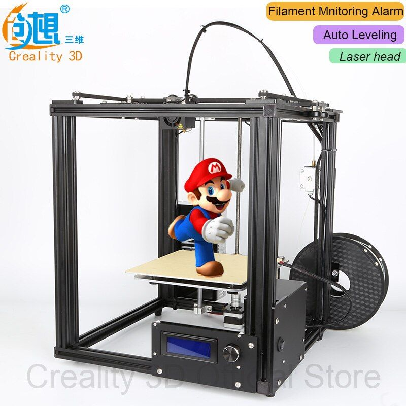 NEW!!CREALITY 3D Ender-4 Auto Leveling Laser Core-XY 3D printer V-Slot Frame 3D Printer Kit Filament Monitoring <font><b>Alarm</b></font> Potection