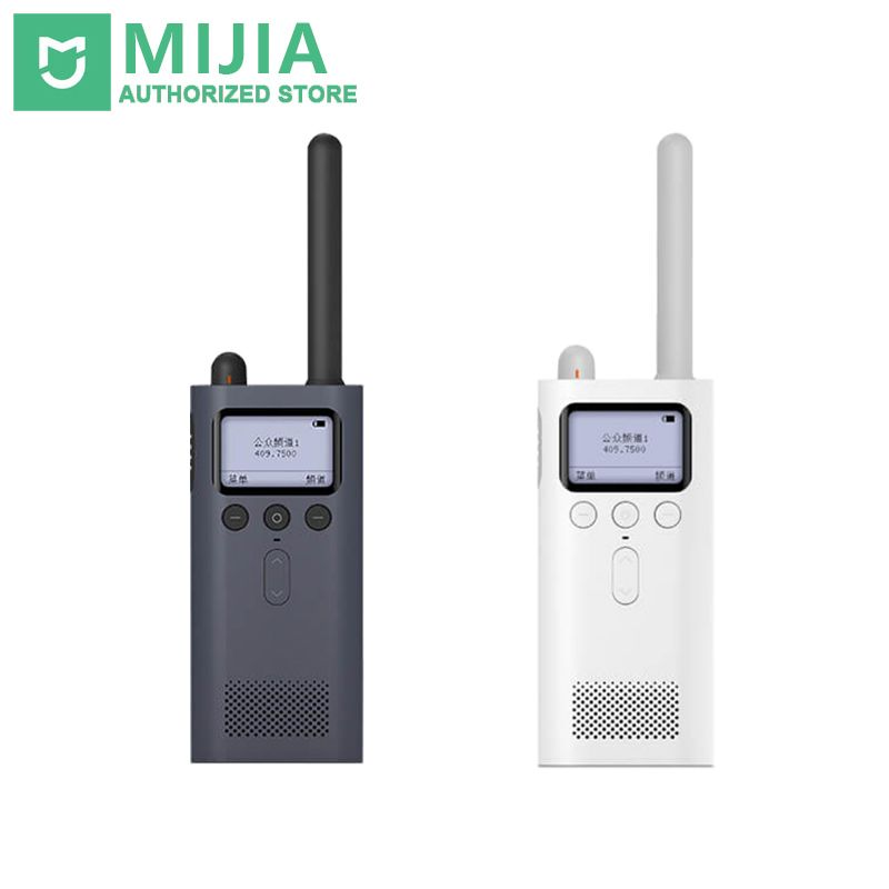 Original Xiaomi Mijia Smart WalkieTalkie FM Radio 8 Dayds Standby Smart Phone APP Location Share Fast Team Talk