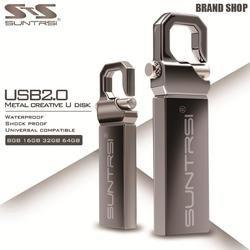 Suntrsi USB Flash Drive 64 GB Métal Clé usb Haute Vitesse USB bâton 32 GB D'entraînement de Stylo de Vraie Capacité 16 GB USB Flash Livraison gratuite