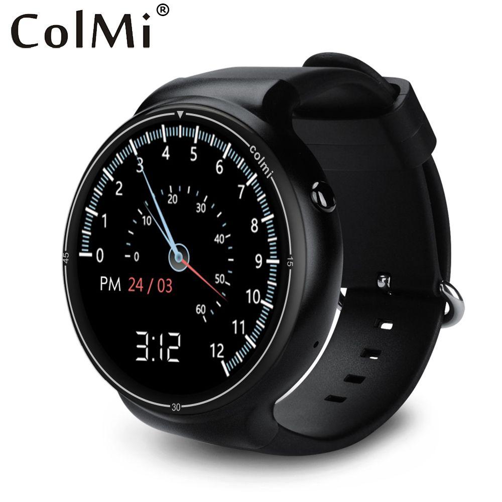 Colmi I1 Reloj Inteligente Android 5.1 OS 2 GB + 16 GB WIFI 3G GPS Pulsómetro Bluetooth MTK6580 Quad A Core SmartWatch
