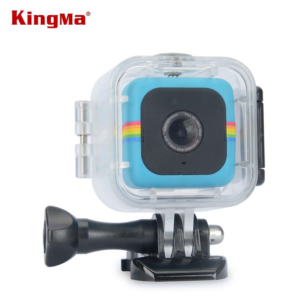 KingMa Boîtier Étanche de Haute qualité Accessoire pour Polaroid Cube et Cube + Caméra D'action Sous-Marine 45 m Imperméable