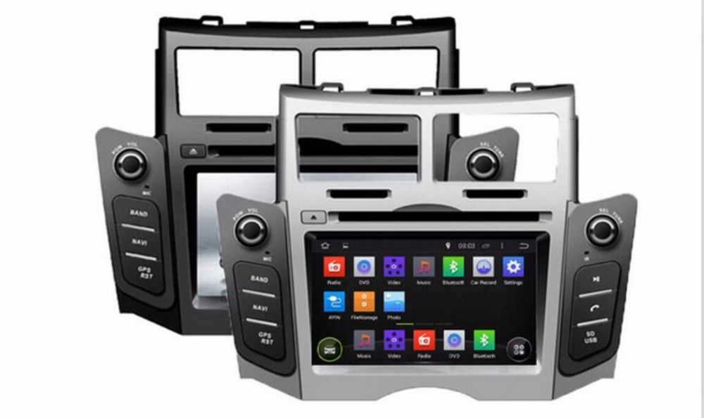 2GB RAM 32GB ROM Octa Core PX5 Android 6.0 3G/4G WIFI DAB+ Car DVD Multimedia Player Radio Stereo GPS For TOYOTA YARIS 2005-2011