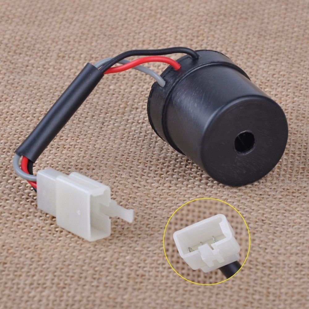 CITALL 12V DC 3 Wire Round Turn Signal Relay Flasher fit for GY6 50cc 125cc 150cc 250cc Motorcycles Scooters Moped ATV