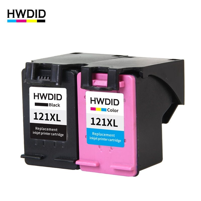 HWDID 121 Refilled Ink Cartridge Replacement for hp 121 XL for HP Deskjet D2563 F4283 F2423 F2483 F2493 F4213 F4275 F4283 F4583