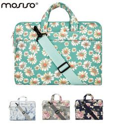 MOSISO 11 13.3 14 15.6 inch Bohemian Flower Designer Notebook Shoulder Bag for Macbook /Acer/Asus Laptop Computer Briefcase Bags